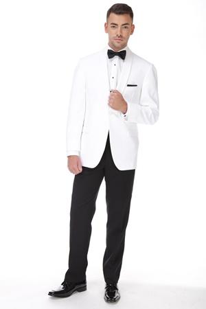 White Ike Behar Dinner Jacket