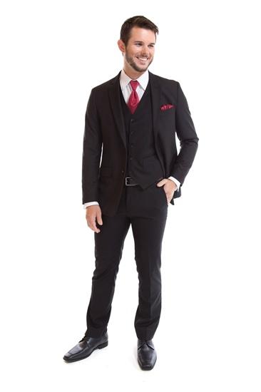 Picture of Couture Black Slim Suit